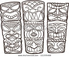 easy totem pole clip art - Google Search