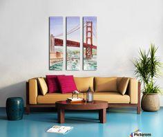 Golden Gate Bridge San Francisco - Irina Sztukowski - Canvas http://www.pictorem.com/31475/Golden%20Gate%20Bridge%20San%20Francisco.html