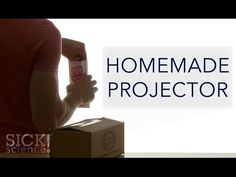 ▶ Homemade Projector - Sick Science! #201 - YouTube This guy has tons of fun science experiment videos.
