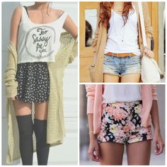 Cute Summer Outfits Tumblr | Cute Summer Outfits Tumblr Shorts 2015-2016 | Fashion Trends 2015-2016