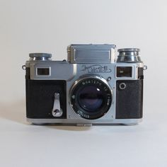 Rare Kiev 4 -- 35mm Camera with Jupiter-8m 2/50mm Lens and Original Camera Case…