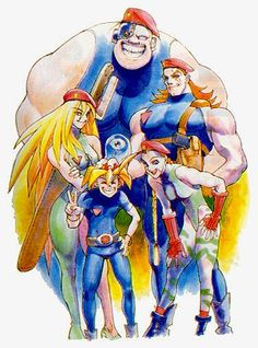 This year marks the Street Fighter II series' anniversary - NeoGAF Cammy Street Fighter, Street Fighter Game, Street Fighter Characters, Super Street Fighter, Game Character Design, Character Art, Akira, Street Fights, Fighting Games