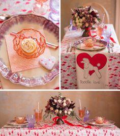 Parisian Femme Valentine's Day Table // Relish Magazine