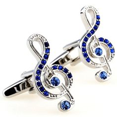 Morality Charm Wedding Crystal Shape Cufflinks Note Notes…