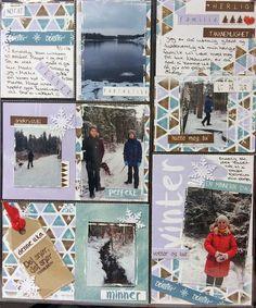 Project Life Norge: Endelig kom det snø til Østfold. Project Life, Books, Projects, Libros, Book, Book Illustrations, Libri
