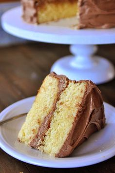 Perfected Yellow Cake Recipe