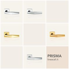 Prisma | The particularly eclectic and unusual design, characterized by the rhomboid shaped handgrip, make it the ideal furnishing accessory for the most modern environments - - - Il design particolarmente eclettico e inconsueto, caratterizzato da un'impugnatura di forma romboidale, ne fa il complemento d'arredo ideale per gli ambienti più moderni. #handles #doorhandle #doorhandles #lineacali #maniglie #square #design #brass #klamki #ручки #manillas #klinken