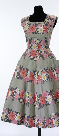 A great dress pattern to create for those who love to sew vintage style clothing.