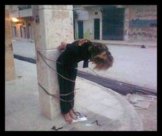 A Christian woman in Syria  2013