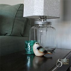 Need a fancy new lamp? Don't pay beaucoup bucks -- make your own!