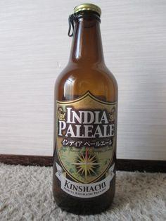 Cerveja Kinshachi India Pale Ale, estilo India Pale Ale (IPA), produzida por Morita Kinshachi Brewery, Japão. 7% ABV de álcool.