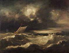 John Crome - Seascape