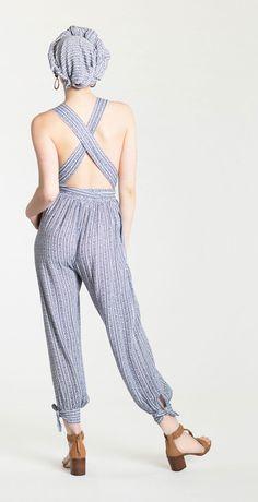 Mara Hoffman Pinwheel Jumpsuit & Zimmermann Swim Link Weave T-Bar Heel