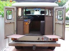 HJ45/47 Troopy camper conversions
