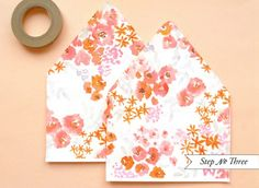 Oh So Beautiful Paper: pretty floral pattern