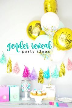 Gender Reveal Party Ideas - are  you planning a gender reveal party? Here is some inspiration! xx