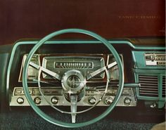1963 Lincoln Continental dash