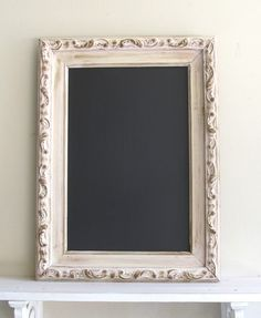 kitchen chalkboard inspiration from easy...aged/distressed frames...