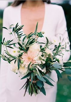 10 of the most beautiful wedding bouquets on Pinterst