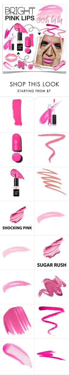 """""""Bright Pink Lips 2"""" by lalalaballa22 ❤ liked on Polyvore featuring beauty, Chanel, Ilia, NARS Cosmetics, Shany, Topshop, Urban Decay and Ellis Faas"""