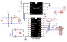 MCP2515 Arduino Board, The Help, Communication, Floor Plans, Canning, Clock, Google Search, Food, Watch