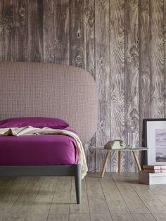 Wood wall is a cool idea