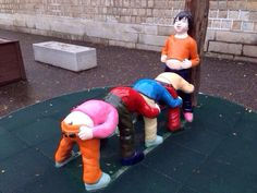 This jolly structure. | 19 Playgrounds That Will Haunt Your Worst Nightmares