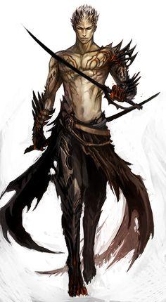 eli by sandara.deviantart.com. Close to how I imagine the demons!