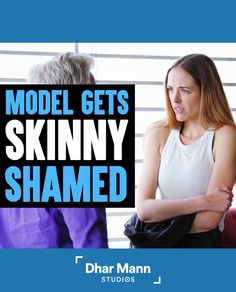 Model Skinny Shamed By Casting Director, Ending Is So Shocking | Dhar Mann. Being skinny is okay. Not being skinny is okay. Making fun of someone for their body type is not okay. For more motivational videos, visit DharMann.com #DharMann Insecure Women, People Dont Understand, Real Model, Get Skinny, You Look Beautiful, Motivational Videos, Hard Times, Life Tips, Everyone Else