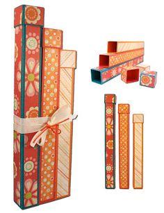 Tall Skinny Boxes, Set of Three!
