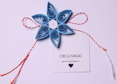 Martisoare Handmade 2018 Quilling - Circul Magic Quilling Work, Quilling Flowers, Paper Flowers Diy, Diy Paper, Paper Stars, Projects, Handmade, Magic, Inspiration