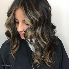 Caramel balayage 🍂  :: RedBloom Salon Hair Painting, Color Trends, Caramel, Hair Color, Long Hair Styles, Beauty, Living Room, Sticky Toffee, Candy