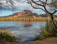 Red Mountain on the Salt River