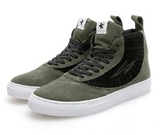 Olive high tops are so BJ right now.