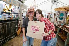 Here, the junk-lovin' duo provides tips for salvaging, transforming and decorating with relinquished and unique finds.