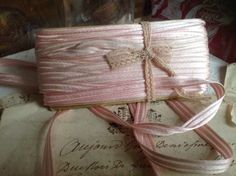 A personal favourite from my Etsy shop https://www.etsy.com/uk/listing/488947855/vintage-pink-trim-french-ribbon-tape