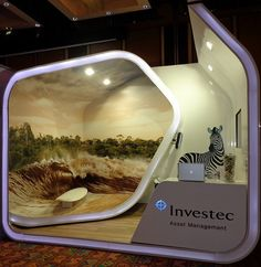 Investec Exhibition Stand at PSG 2013 by XZIBIT 1 | Flickr - Photo Sharing!