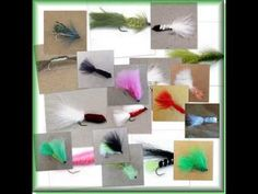 24 Traditional TROUT LURE FISHING FLIES Lot 2