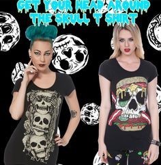 Your head will go round after learning about these facts about #Skull_t_shirt, the favourite punk fashion ensemble.
