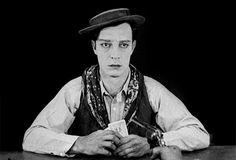Old Hollywood Cinema — Buster Keaton in Go West Silent Screen Stars, Silent Film Stars, Hollywood Cinema, Old Hollywood Stars, Classic Hollywood, Top 10 Films, Buster Keaton, Physical Comedy, Gifs