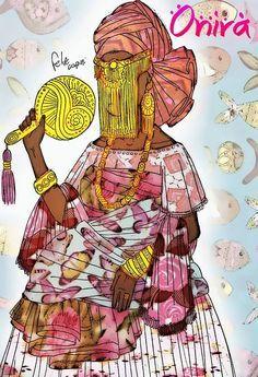 Wicca Africanista: OniráOnirá, a senhora de Irá, que no Brasil é trat...