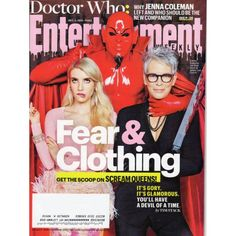 Entertainment Weekly | Scream Queens | Doctor Who | Emma Roberts | October 2, 2015 #1383