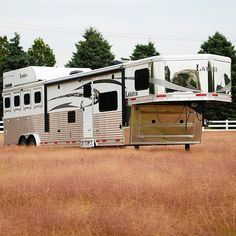 Let your Horse ride in #style AND #comfort in a Lakota Trailer today. #ChargerEdition #Horse #HorseTrailers