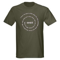 Namaste and its meaning : Teesome Shirts Shop $19.49