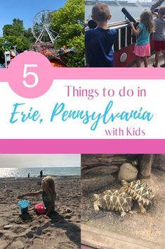 5 Exciting Things to do During a Visit to Erie With Kids Presque Isle State Park, Pirate Cruise, Erie Pennsylvania, Erie County, Great Lakes Region, Interactive Learning, Short Trip, Train Rides, Amazing Adventures