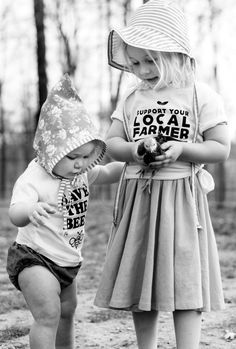 'Support Your Local Farmer' Kids Tee | MagnoliaRootsCo on Etsy