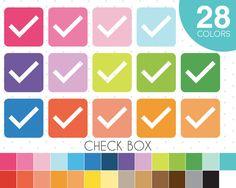 Checkbox clipart Checkmark clipart Checkmark by JSdigitalpaper