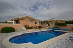 A private pool with a 3 bed villa