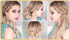 Top 4 Braided Hairstyles For Long Hair   #Braided #Hairstyles #LongHair