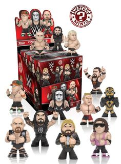 Funko Mystery Mini - WWE Series 2 Display Case of 12